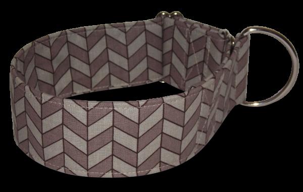 Hundehalsband herringbone, galgo store