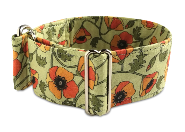 poppies amber, Martingale 5cm