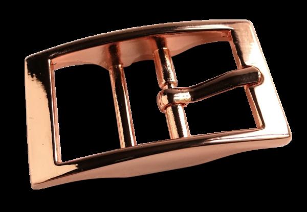 Doppelstegschnalle 20mm, rosegold