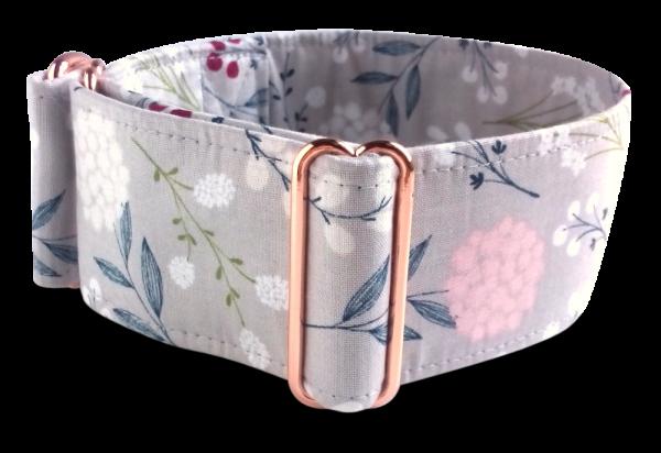 Hundehalsband, rosegold, pastell, Galgo Store