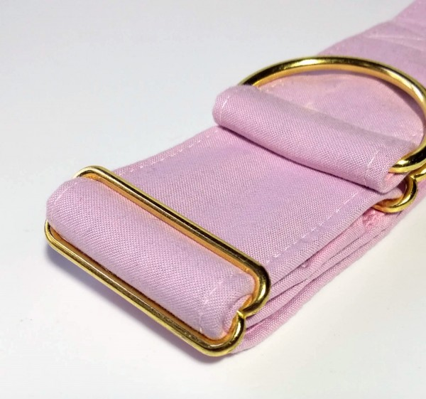 medium pink, Zugstopp 5cm, gold