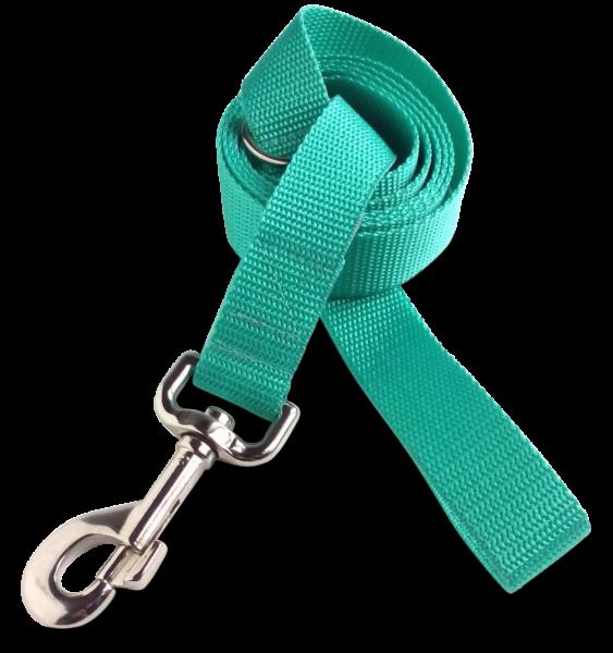 Nylonleine emerald, silber