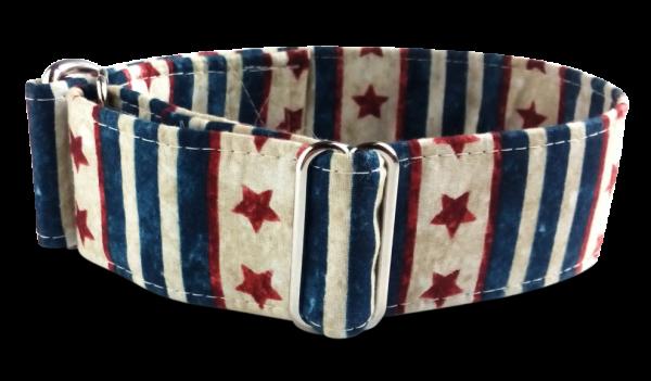 stars & stripes , Martingale 4cm