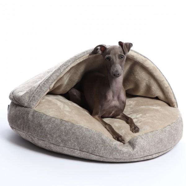 Hundebett melange khaki