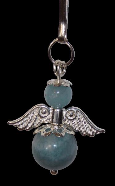 Schutzengel - blaue Jade