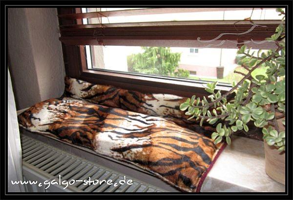 Fensterbankauflage Tiger - Sondermaß - SET