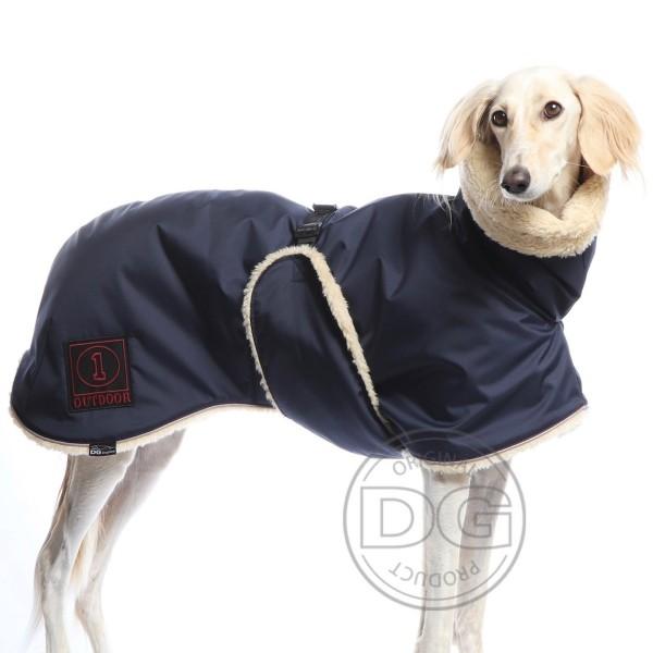 DogGear Teddy- Jacke blau