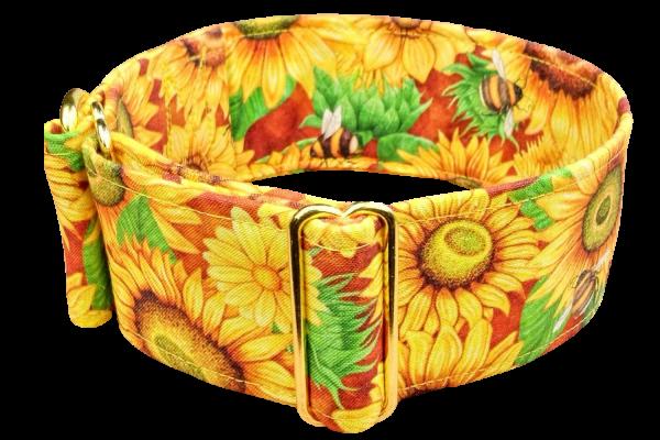 Hundehalsband sunflower