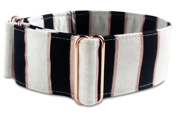 Martingale rosegold gestreift
